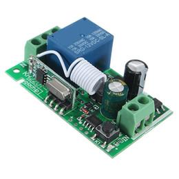 2017 control remoto 315 Smart Home DC 12V 220V 10A 1 Ch RF inalámbrico de control remoto receptor de conmutación del relé 315/433 MHz Channel Heterodyne Mejor Precio control remoto 315 promoción