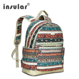 Wholesale Fashion Canvas Material School Backpack Women Backpack Teen Girls Backpack