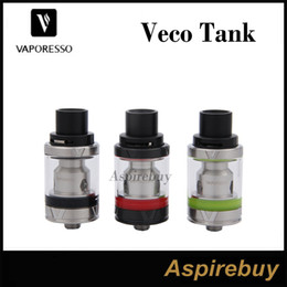Wholesale Vaporesso VECO Tank ML Adjustable Top Airflow Leak Proof Design Wok Well with Vaporesso Tarot Nano Mod Vaporesso VECO Tank Original