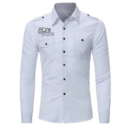 Mens Printing Shirt For Long Sleeve Fashion Business Casual For Mens Shirt Slim Mens Dress Shirt For White Drop Shopping