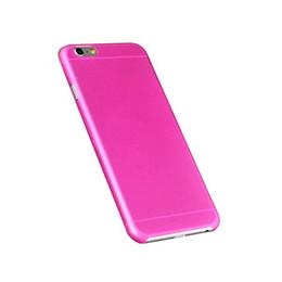 Acheter en ligne Cas transparents pour iphone 4s-0,3 mm ultra mince mat givré transparent transparent peau de cas couverture PP pour iPhone 7 6 6 plus 4,7 5,5 5 5 5 4 4S