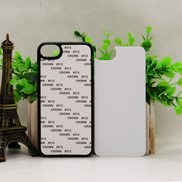 Wholesale D sublimate case for iphone plus Sublimation Hard PC case with aluminium metal sheet with glue