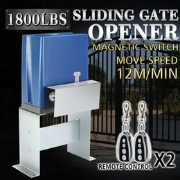 Wholesale 800kg Sliding automatic Gate Opener Electric Operator Driveway Door Slide Roller Chain Driven