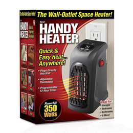 Wholesale Mini Handy Heater Plug in Personal Heater Home Use The Wall outlet Space Heater W Handy Heaters Free DHL Shipping