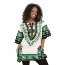 2016 Hot Dashiki African models dress African National Costume Dashikis wholesale free shipping
