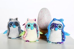 Wholesale IN STOCK hatchim egg toys amazon top selling Christmas surpise gifts interactive educational hatching egg white grey owla for our kids