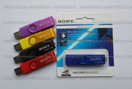 Acheter en ligne Disque flash haute vitesse-16 Go / 32 Go / 64 Go / 128 Go / 256 Go SONY USB2.0 OTG USB Flash Drive / Mobile Phone OTG Pendrive / U disque haute vitesse disque de mémoire OTG