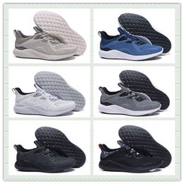 Wholesale Hot Sale Alphabounce EM Boost Running Shoes Alpha bounce Sports Trainer Sneakers Man Shoes With Box Size US