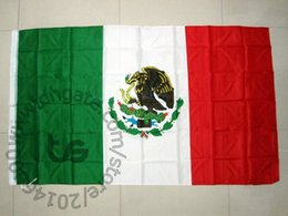Mexico Banner Room hanging de Mexican national Free shipping 3x5 FT 90*150cm National flag for Festival the world cup Home Decoration Mexico