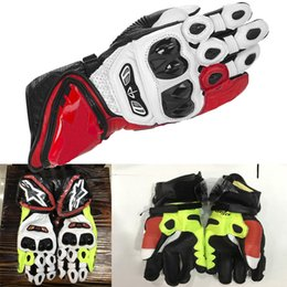 Wholesale 2017 Hot sale Alpine Motorcycle GP Tech Gloves Motogp Racing Gear Motocross Leather GP Tech glove Motorbike Driving Guantes Star