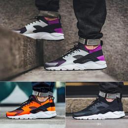 Huraches verdes en venta-2017 Las mujeres más nuevas Huarache 4 IV de los hombres calzan las zapatillas de deporte púrpuras verdes negras rojas de Huaraches Los zapatos al aire libre del deporte de los huraches al aire libre de Huaraches