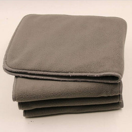 Wholesale Hot Reusable Adult Cloth Diaper Nappy Liners Insert Layers Bamboo Charcoal Washable Changing Pad Cloth