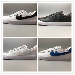 Wholesale 2017 New Fashion Hiroshi Fujiwara Fragment Design X Air Zoom Lauderdale Leather Sneaker Shoes Men Leather Casual Shoes Free Express