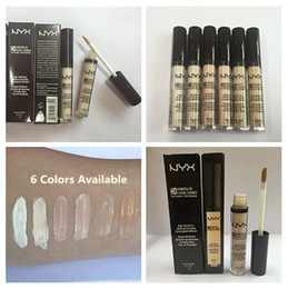 Wholesale Christmas best sale NYX Concealer Wand HD Brand Concealer Sticker Makeup High Definition Face Cosmetic Colors in stock