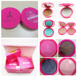 Wholesale Cosmetics Skin Frost Five Stars Skin Frost Bronzers Highlighters Pigmented Powder Used On The Face Eyes Body