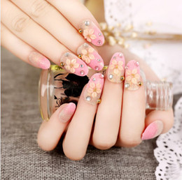 24pcs French style office false nail art tips,fake nails art decoration patch manicure tips accessory Classic French Red Rose fake nails