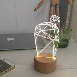 Wholesale LED light DIY Hand made Cute idea for small plants Electronic DIY Decorate your windowsill desk fresh and beautiful