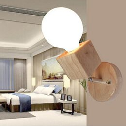 modernos espejos de pared decorativos moderno espejo lmparas de pared sconces dormitorio de madera decorativa