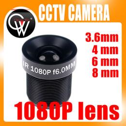 CCTV 1080P HD Lens 1 2.73.6mm 4mm 6mm 8mm For Full HD CCTV Camera IP Camera M12*0.5 MTV Mount