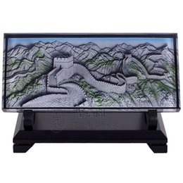 Beijing the Great Wall relief decoration Crafts Ornament Home Furnishing send leadership foreign friends gifts