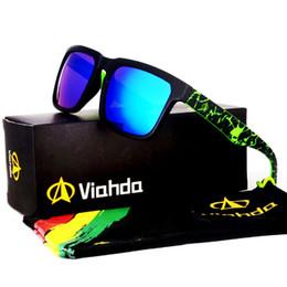 Descuento gafas de diseño fresco Venta al por mayor-2016 nuevo y más fresco Las gafas de sol de las rocas se divierten los vidrios de sol del diseñador de la marca de fábrica de los vidrios de las gafas de sol coloridas de GlasseS F854 con la caja