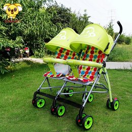 2017 Top Sale China Baby Stroller Factory twins Baby Pram anti shock with good quality and competitive price