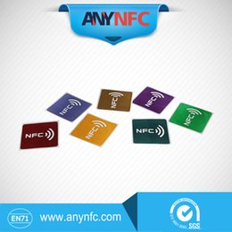 Wholesale chip N T A G NFC tag sticker universal lable by China Post Registered Air Mail