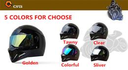 Wholesale 2017 high quality TopGear The STIG Helmet Visor SIMPSON Star Wars helmet lens CRG ATV Series Motorcycle Helmet PC Lens mm colors