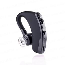 2017 mains libres universel Handsfree Business Bluetooth Headset Écouteurs Contrôle sans fil de la voix Musique sportive Casque Bluetooth Bruit anti-bruit Earbud mains libres universel ventes