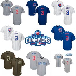 Wholesale 2016 World Series Champions patch Chicago Cubs mens David Ross jerseys Cubs Baseball Jersey Shirt Embroidery Logos Stitched Size S XL