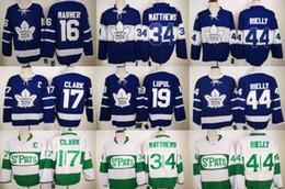 2017 Hockey Jersey New Toronto Leafs Jerseys 100th Anniversary Hockey Jersey 34# 16# 17# 29# 44# #19 Retro Hockey Jerseys Stitched USA Size