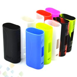 Silicone Case for Cloupor X3 TC Mod Silicon Cases Bag 11 Colors Rubber Sleeve Box protective Coverl Protector Skin DHL Free