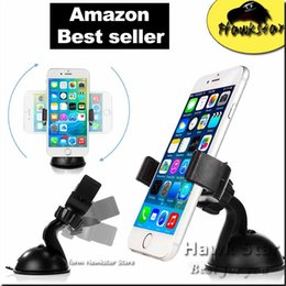 Wholesale Car Mount Holder Mobility Smartphone Universal with Suction for Dashboard Windshield Cell Phone Iphone Samsung