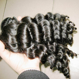 24 paquets de cheveux bouclés à vendre-Grade 7A Virgin Deep Curly Malais Hair Wefts Thick Bundles 4pcs / lot 400g Romantic Curls No Tangle