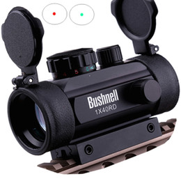 Wholesale Tactical Hunting Holographic x mm Airsoft Red Green Dot Sight Scope mm Rail Mount