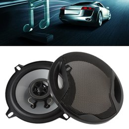 Wholesale 5 quot mm ohm W Max Car Coaxial Auto Audio Music Stereo Speakers Way for Vehicle Door SubWoofer AUP_40X