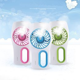 Portable Mini Cooling Replenishment Fan USB Humidifier Cooling Misty Fan Small Air Conditioning For Hot Summer Outdoor Travel