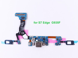 Wholesale 10 Pcs lot A+ Quality Charging Flex Cable for Samsung Galaxy S7 Edge G9300 G930F G9350 G935F USB Port Dock Socket