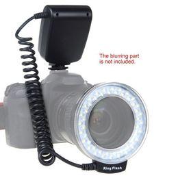 Wholesale RF D RF D Macro pieces LED Ring Flash Light for Canon Nikon Pentax Olympus Panasonic DSLR