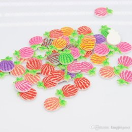 Manufacturers selling environmental protection resin accessories multicolor glue resin watermelon phone beauty materials wholesale Hair acce