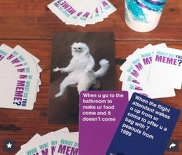 Wholesale What Do You Meme Party card game for friends for the social media generation Adult Board Funny Game