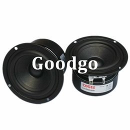 Wholesale Freeshipping HIFI Speaker Full Range Bass Subwoofer Tweeter Adapted New Inch W DIY Home Theater Loudspeaker system Audio Speakers