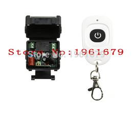 Descuento control remoto 315 Venta al por mayor-CA 220 V 1 canal RF mini control remoto inalámbrico 1 * Receptor 1 * Transmisor 315 mhz o 433 mhz