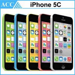Wholesale Refurbished Original Apple iPhone C IMEI Unlocked G GB GB IOS8 inch Dual Core A6 CPU MP G LTE Smart Phone Free Post