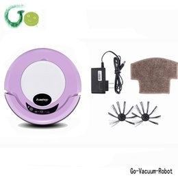 Wholesale Household cordless robot vacuum cleaner quiet intelligent vacuum hoover cleaning device for home hotel carpet