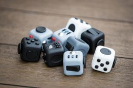 Wholesale In stock Novelty Fidget Cube Toy Stress Relief Focus For Adults and Children Decompression Anxiety Toys Free DHL