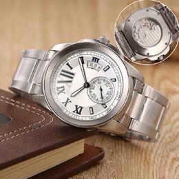 9 estilos AAA marca de lujo relojes mens calibre de automático mvmt reloj blanco marcar ver a través de reloj de los hombres reloj de pulsera desde esfera blanca para hombre de los relojes automáticos fabricantes