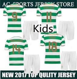 Canada Les maillots de la meilleure qualité celtique Best Quality 2017 2018 shirt à carreaux Glasgow Kids Men 17 18 BROWN jerseys les brown for sale Offre