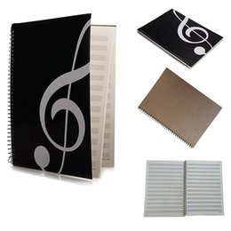 Hot Selling Music Sheet Notebook Manuscript Staff Paper Music Notebook 50 Pages -High Note