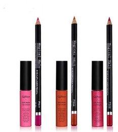 Le commerce de la peau en Ligne-Stylo plume labial en coton mat de style chaud Ensemble de crayons à lèvres à 16 couleurs de commerce extérieur DHL Livraison gratuite